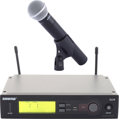 Location Micro UHF SLX SHURE SM 58.